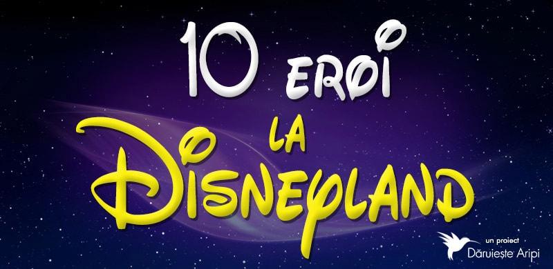 10 eroi la Disneyland