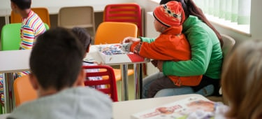 Playroom in the Pediatrics Unit
