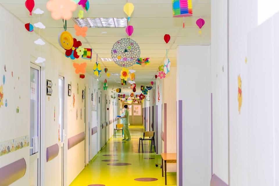 Am decorat Sectia de Pediatrie