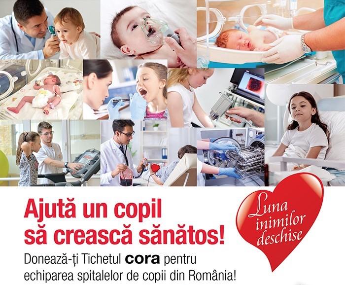Achiziționăm aparatură medicală pentru spitalele din Constanța cu ajutorul Cora România